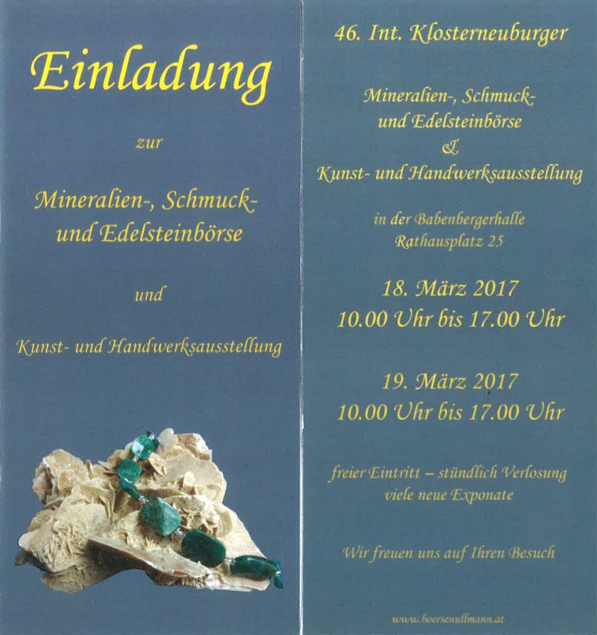 Klosterneuburger-Mineralienboerse